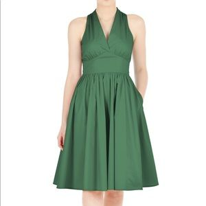 eShatki | Empire Waist Poplin Dress | L 12